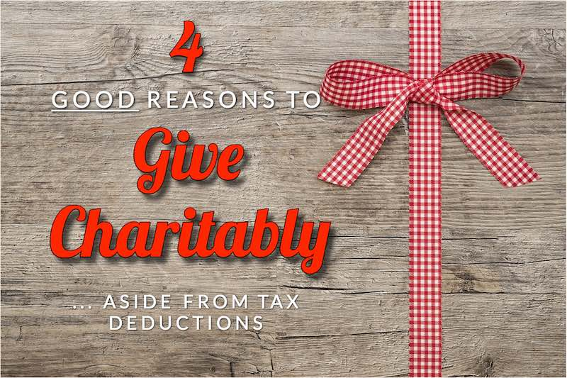 give charitably