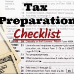 Dennis Fritz CPA's 2017 Tax Preparation Checklist
