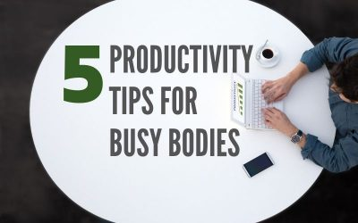 Five Productivity Tips for Redding Busy Bodies