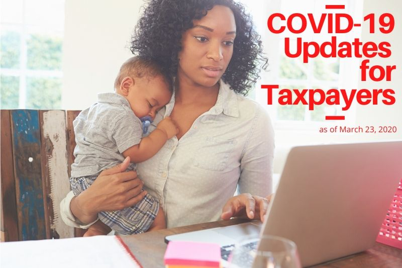 COVID-19 Updates For Redding Taxpayers